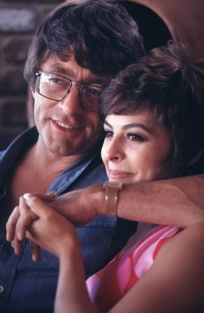 Brenda Benet  with husband Bill Bixby