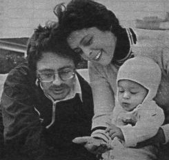 Brenda Benet  with husband Bill Bixby and son Christopher