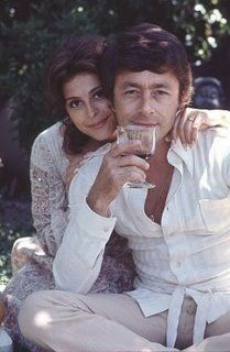 Brenda Benet  and husband Bill Bixby