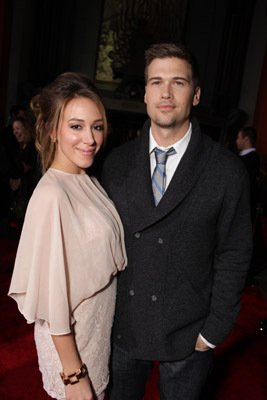 Nick Zano and Haylie Duff - Dear John Los Angeles Premiere