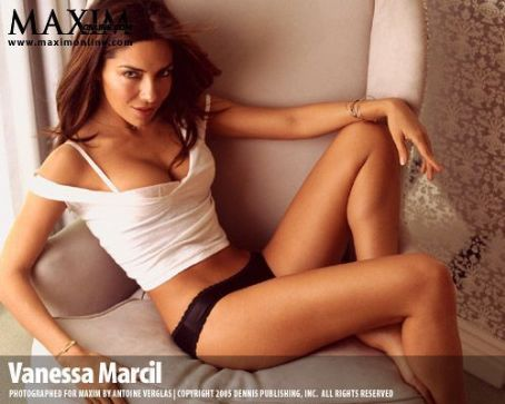 Vanessa Marcil Maxim Magazine June 2005 Pictorial Photo - United States