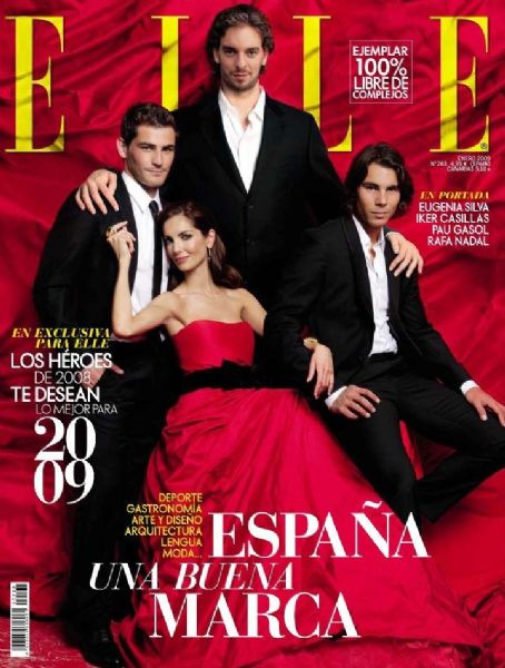 Iker Casillas - Elle Magazine [Spain] (January 2009)