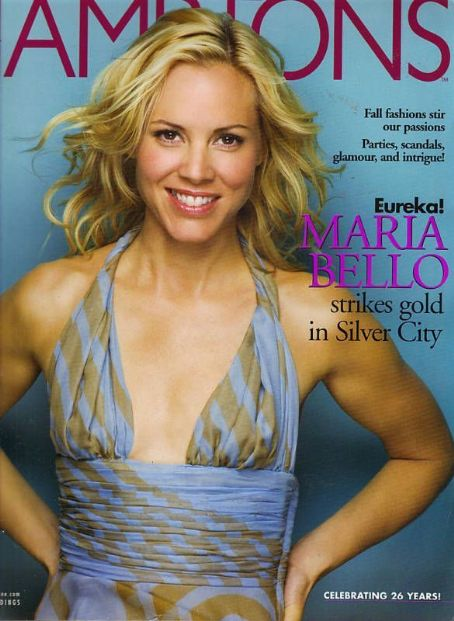 Maria Bello - Hamptons Magazine Cover [United States] (August 2004)