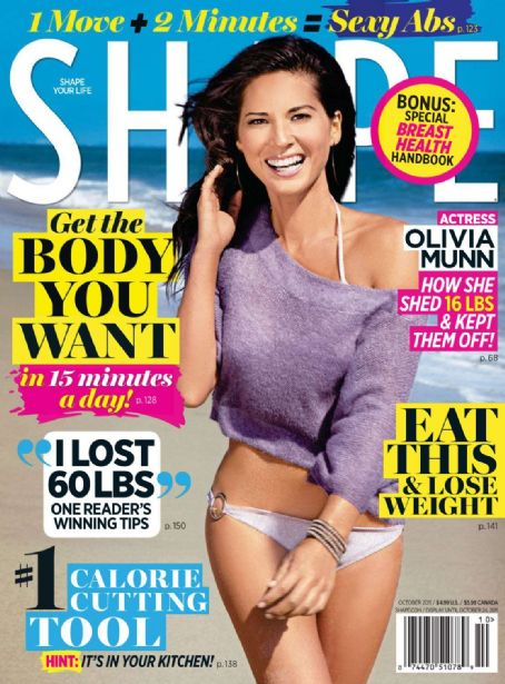 Olivia Munn - Shape Magazine Cover [United States] (October 2011)