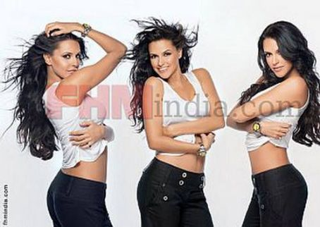 Neha Dhupia  FHM Magazine Pictorial July 2009