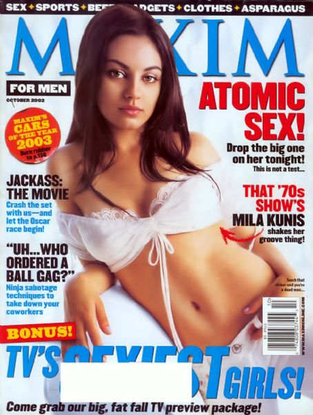 Mila Kunis - Maxim Magazine [United States] (October 2002)