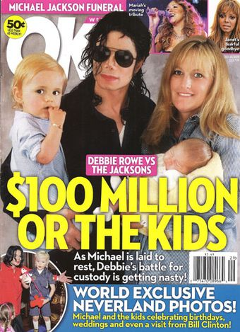 Debbie Rowe - OK! Magazine [United States] (20 July 2009)
