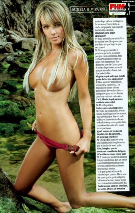 Virginie Caprice  - FHM Germany - August 2006