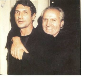 Antonio D'Amico Gianni Versace and Antonio D'amico