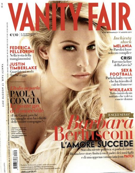 Barbara Berlusconi Vanity Fair Italy August 2011