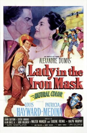 Lady in the Iron Mask (1952) Poster