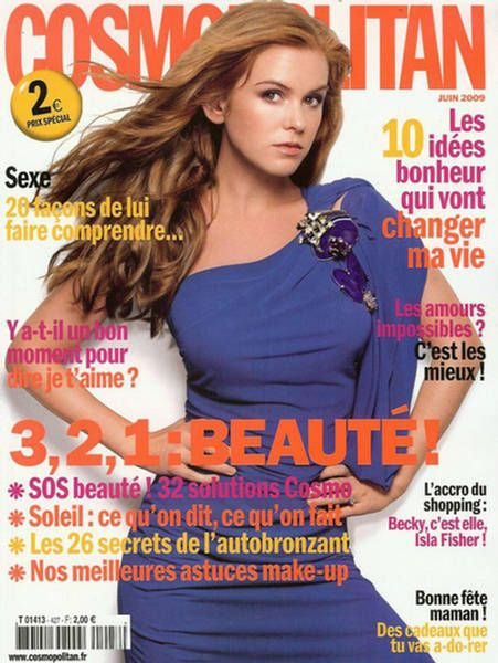 Isla Fisher - Cosmopolitan Magazine [France] (June 2009)