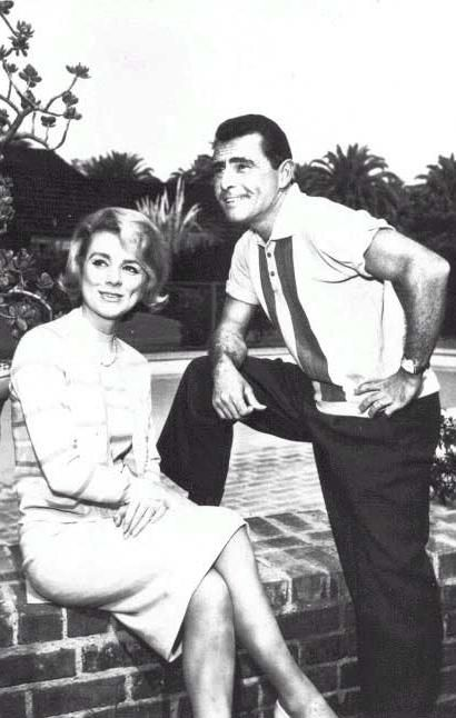 Rod Serling  & Inger Stevens