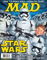 Star Wars - MAD Magazine Cover [United States] (February 2015)