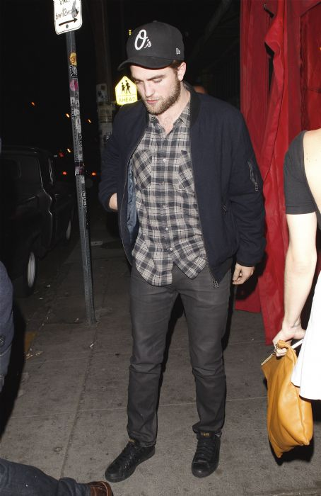 Robert Pattinson Has a Late Night in LA