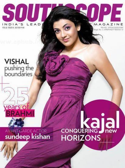 Kajal Agarwal - SOUTHSCOPE Magazine Cover [India] (July 2012)