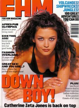 Catherine Zeta-Jones - FHM Magazine [United Kingdom] (August 1996)