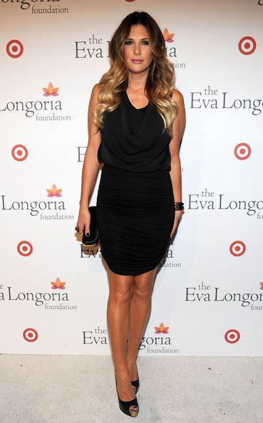Daisy Fuentes:  The Eva Longoria Foundation's Pre-ALMA Awards dinner