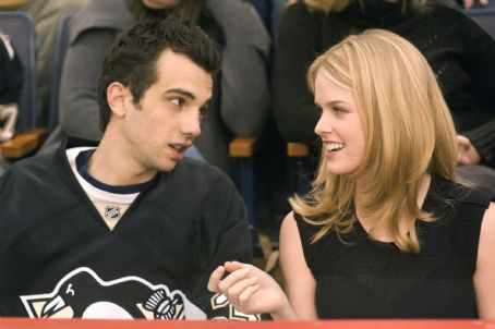 Molly Kirk (Jay Baruchel, left), an average Joe, cannot believe his luck when the beautiful  (Alice Eve, right) falls for him in the DreamWorks Pictures comedy 'She's Out of My League,' a Paramount Pictures release. Photo Credit: Darren Michael