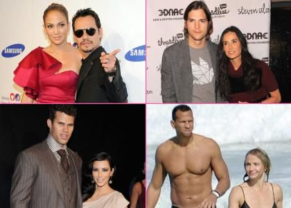 2011 Hollywood Breakups: A Year of Failed Goes at Love