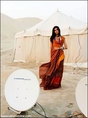 Diana Penty  Verve Magazine Pictorial May 2009
