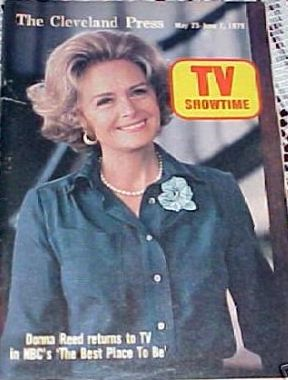 Donna Reed - TV Showtime Magazine [United States] (25 May 1979)
