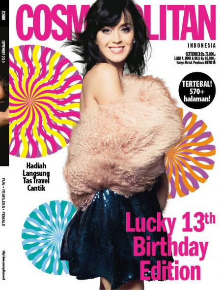 Katy Perry - Cosmopolitan Magazine [Indonesia] (September 2010)