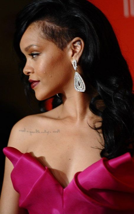 Rihanna's Red Carpet Walk at Time 100 Gala