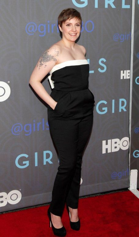 Lena Dunham this weekend's Golden Globes, where she'll likely scoop up a trophy or two