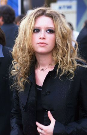 Natasha Lyonne  in black