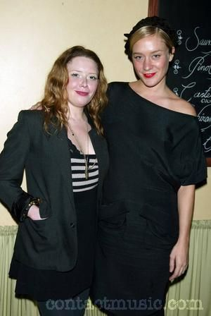 Natasha Lyonne  and Friend Chloe Sevigny