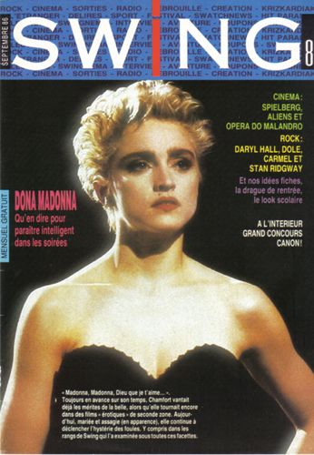 Madonna - SWING Magazine [France] (September 1986)