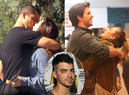 Caught! Miley Cyrus, Liam Hemsworth, Demi Lovato and Wilmer Valderrama Party With Joe Jonas