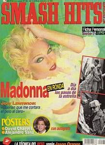 Madonna - Smash Hits Magazine [Spain] (November 1994)