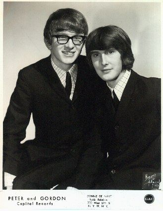 Peter Asher  and Gordon Waller of Peter and Gordon