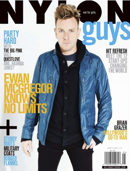Ewan McGregor - Nylon Guys Magazine Cover [United States] (January 2012)