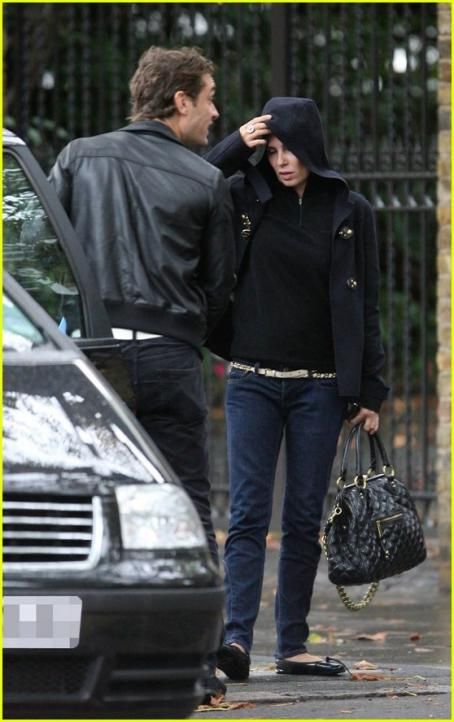 Sadie Frost - Leaving His Home In London, On 10/1/2006