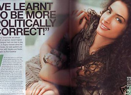 Sonam Kapoor  Femina Magazine Pictorial May 2009