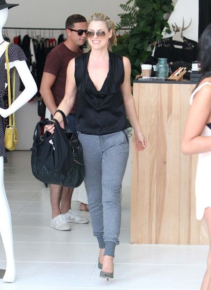 Ali Larter goes shopping in West Hollywood, California on September 21st, 2012