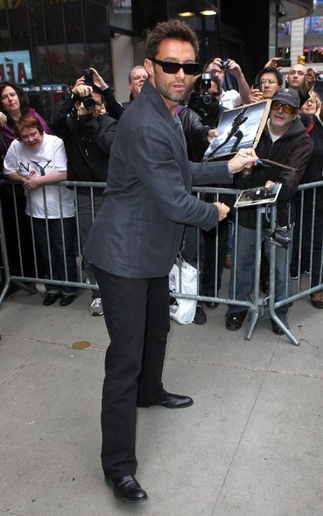 "Hugh Jackman Says ""Good Morning America"""