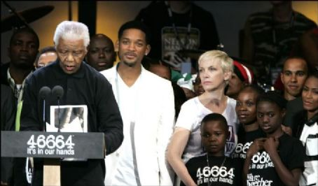 Annie Lennox and Will Smith