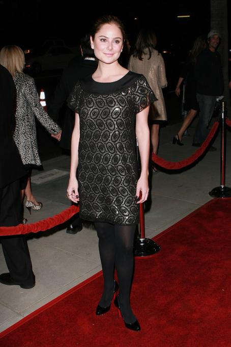 Amanda Brooks  - Premiere Of Grace Is Gone At The Samuel Goldwyn Theatre, 11-27-2007