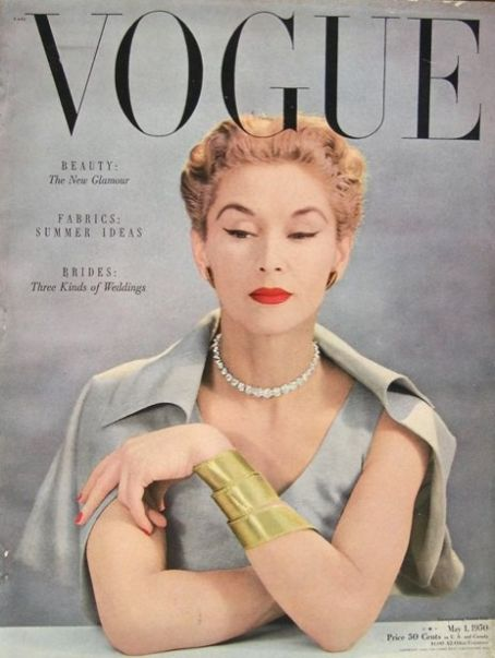 Lisa Fonssagrives - Vogue Magazine [United States] (May 1950)