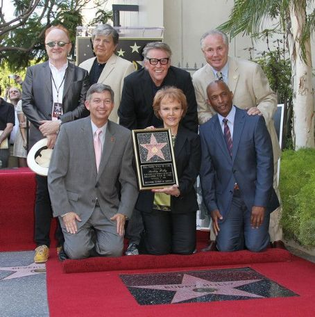 Peter Asher - Buddy Holly honored posthumously with star on the Walk of Fame. Hollywood, CA.September 7, 2011