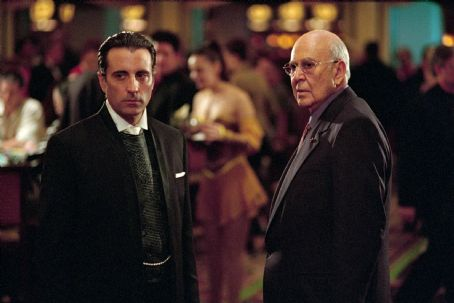 Ocean's Eleven Andy Garcia and Carl Reiner in Warner Brothers' Ocean's Eleven - 2001