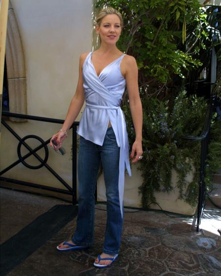 Less Than Perfect Andrea Parker Of '' Attends The ABC Primetime Preview Weekend On September 7, 2003 At Disney's California Adventure In Anaheim, California.