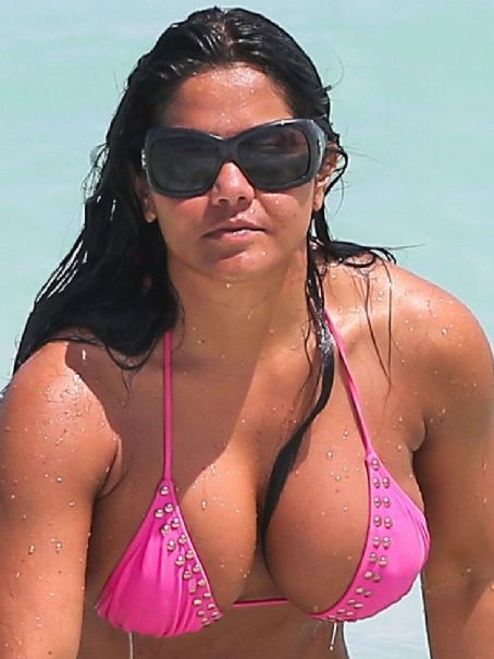 Maripily Rivera  In A Revealing Bikini In Miami