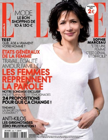 Sophie Marceau - Elle Magazine [France] (7 May 2010)