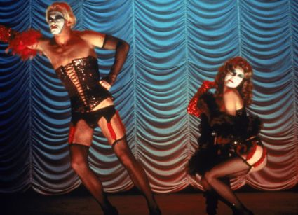 The Rocky Horror Picture Show Susan Sarandon as Janet and Peter Hinwood as Rocky in Rocky Horror Picture Show (1975)