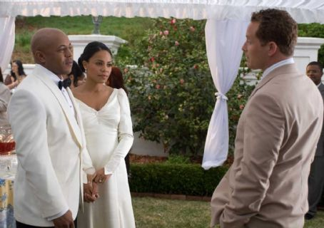 Rockmond Dunbar Chris (), Andrea (Sanaa Lathan) and William (Cole Hauser) in TYLER PERRY'S THE FAMILY THAT PREYS. Photo credit: Alfeo Dixon
